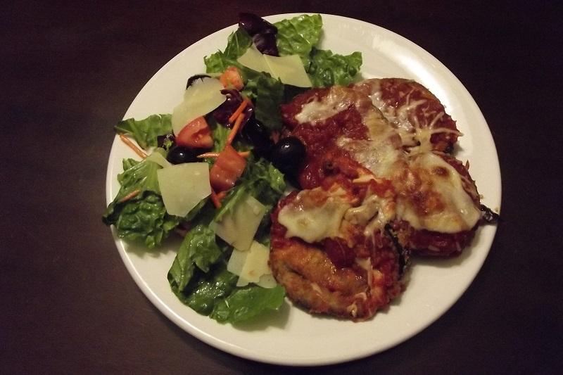 Eggplant Parmesan 3