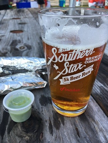 Southern Star 5K beer glass