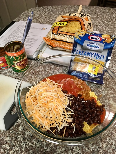 chili chips and cheese casserole ingredients