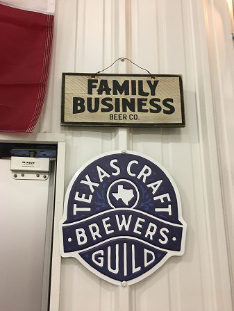 Family Business sign